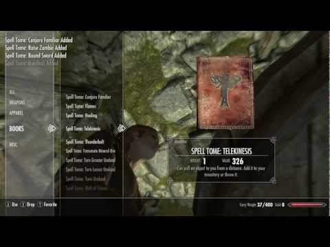 TESV: Skyrim - CHEAT *Unlock,
