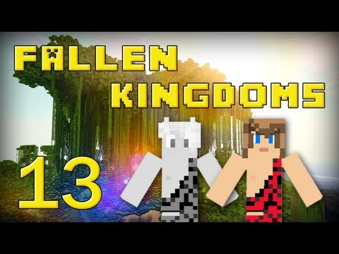fallen kingdoms 2 : frigiel, zelvac & léozangdar | jour 13 - minecraft