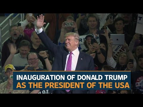 Donald Trump will be sworn in as US President on Friday, 20 January