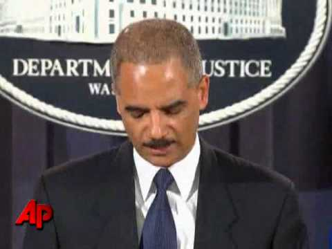 Holder: Arrests Linked to Terrorism in Somalia