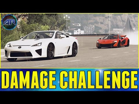 Forza Horizon 2 : Fast And Furious - DAMAGE CHALLENGE!!! (Part 6)