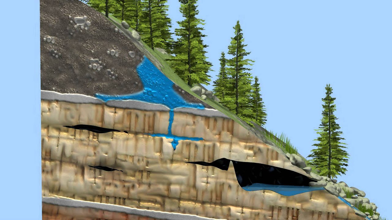 Cave Formation 3d Animation