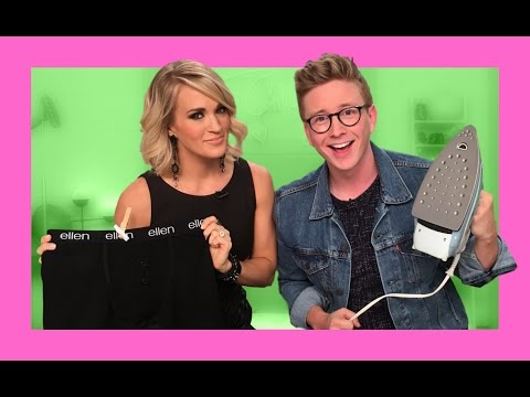 Dirty Laundry with Carrie Underwood | The Tyler Oakley Show thumbnail