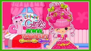 ♡ Lalaloopsy Girls - Jewel Sparkles Cute Dress Up Video Game For Children