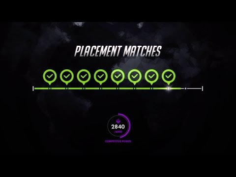 Overwatch Season 6 | Placement Match | HOW to Widow | Widow Gameplay