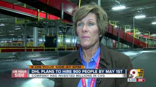 DHL holds job fair in search of 900 new employees for expanding CVG hub