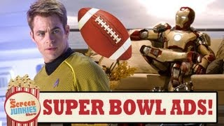 Super Bowl Movie Trailers 2013!