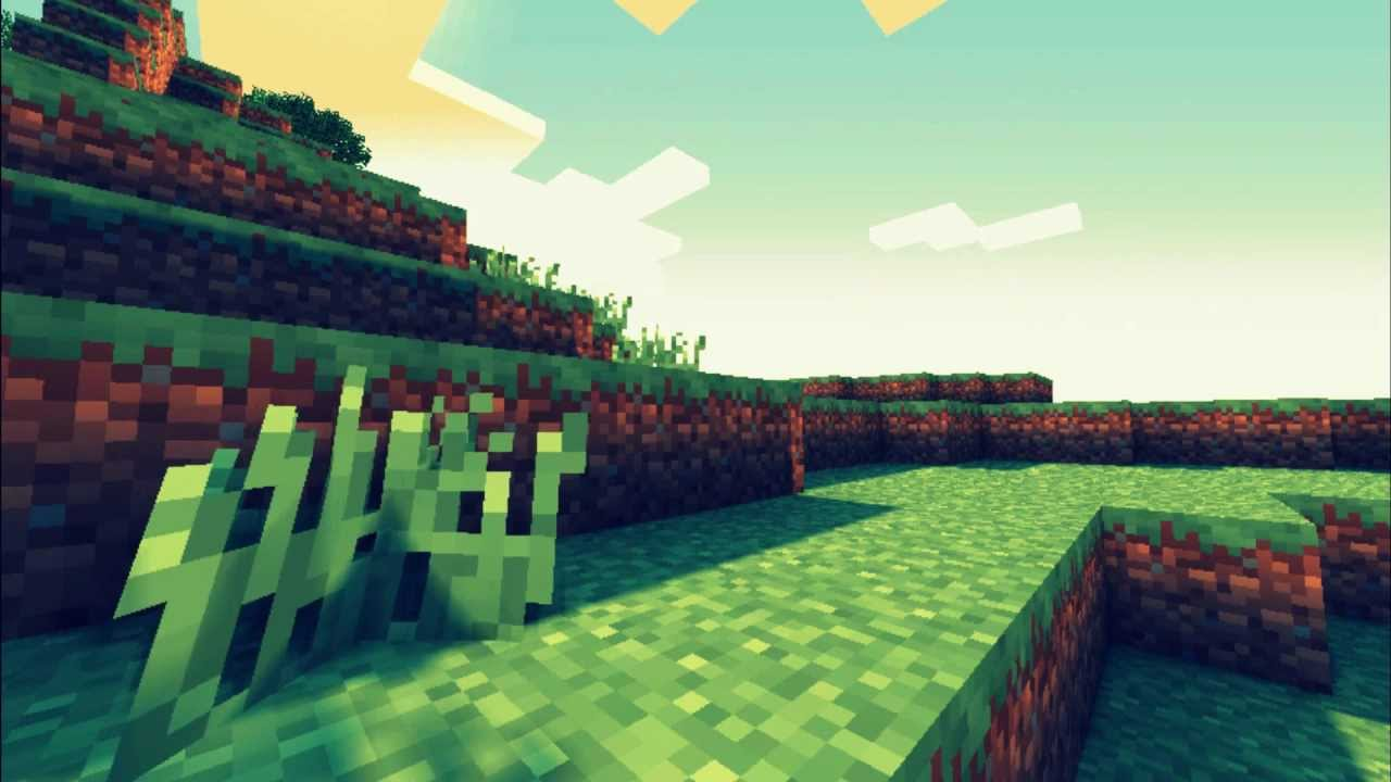 Minecraft shaders background (55 Wallpapers) – Wallpapers ...