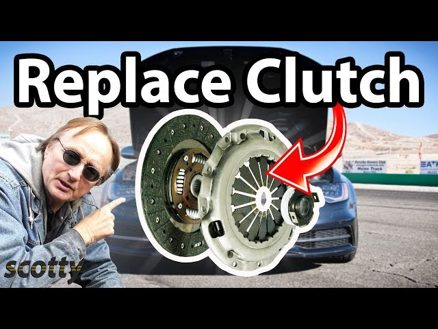 Replacing A Clutch In Your Vehicle. - YouTube