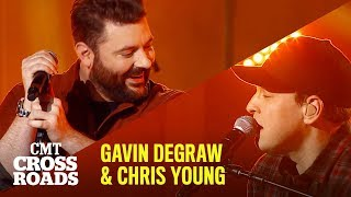 Gavin DeGraw & Chris Young Perform 'I Don't Want to Be' First Look | CMT Crossroads