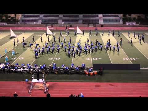 Liberty High School Marching Band Rampage 2012