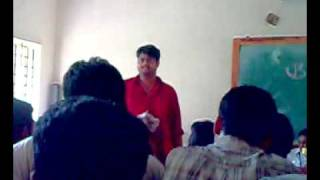 Mr.N.Arjun speech