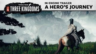 Total War: THREE KINGDOMS - A Hero's Journey Trailer