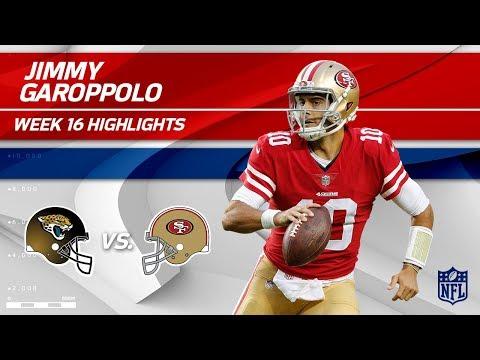 Jimmy Garoppolo Continues His Winning Streak! | Jaguars vs. 49ers | Wk 16 Player Highlights
