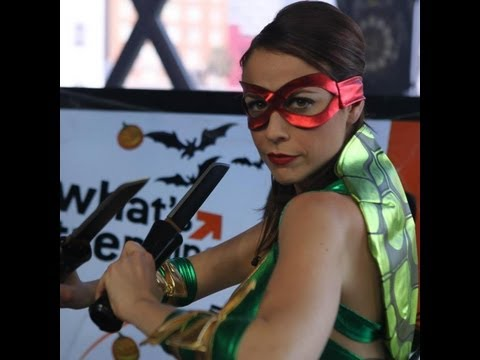 VLOG: Sexy Ninja Turtle Halloween!