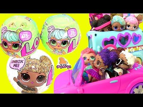 Куклы ЛОЛ - Вечеринка Блестящих Кукол - Сюрпризы ЛОЛ | Май Тойс Пинк
