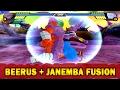 Beerus and Janemba Fusion | Janemrus | DBZ Tenkaichi 3 (MOD)