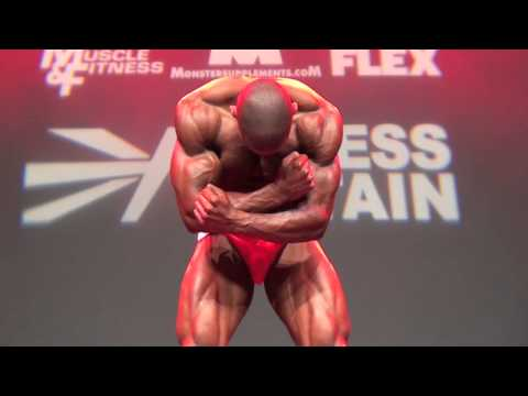 Musclemania British championship final routine