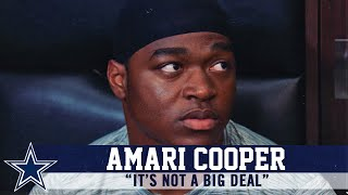 Amari Cooper Provides Update On Foot Injury | Dallas Cowboys 2019