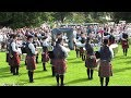 Medley - Field Marshal Montgomery Pipe Band @ Moira 2018