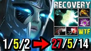 [Phantom-Assassin] Recovery God 27Kills With New Meta Build by QO   Dota 2 FullGame