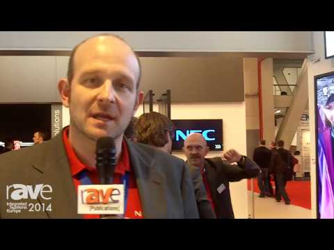 ISE 2014: NEC Highlights 40 to 80-inch P-Series Displays