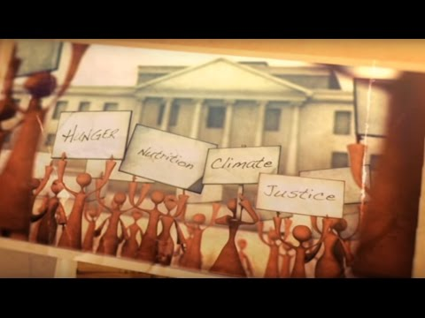 Hunger, Nutrition and Climate Justice Conference Animation