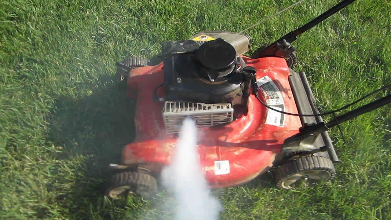 Yard Machines Lawn Mower Startup Of Engine Swap It S