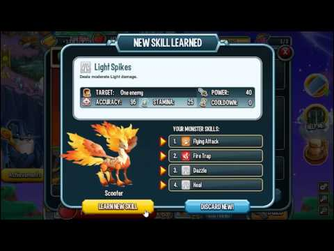 Scorchpeg Monster In Monster Legends Review Eggs Level Up