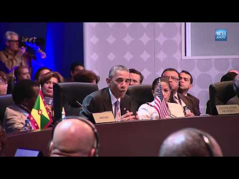 Obama On Shift In US-Cuban Relations - Full Speech At Summit of the Americas Plenary Session