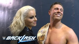 What are The Miz and Maryse so happy about?: Backlash 2016 Exclusive, Sept. 11, 2016