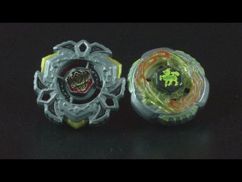 BEYBLADE BATTLE Variares D:D VS Rock Giraffe R145WB Attack Stadium HD!