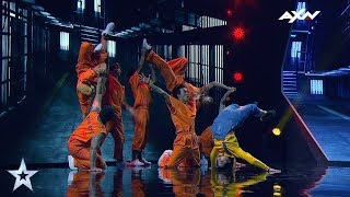 Power Storm Crew Semi-Final 1 - VOTE NOW | Asia's Got Talent 2017