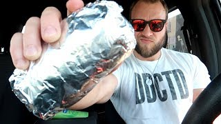 Chipotle Burrito Eating Challenge!