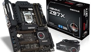 BIOSTAR GAMING Z97X Unboxing