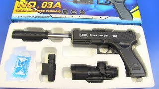 Realistic Glock toy gun 9x19 | Toy Pistol for Kids !