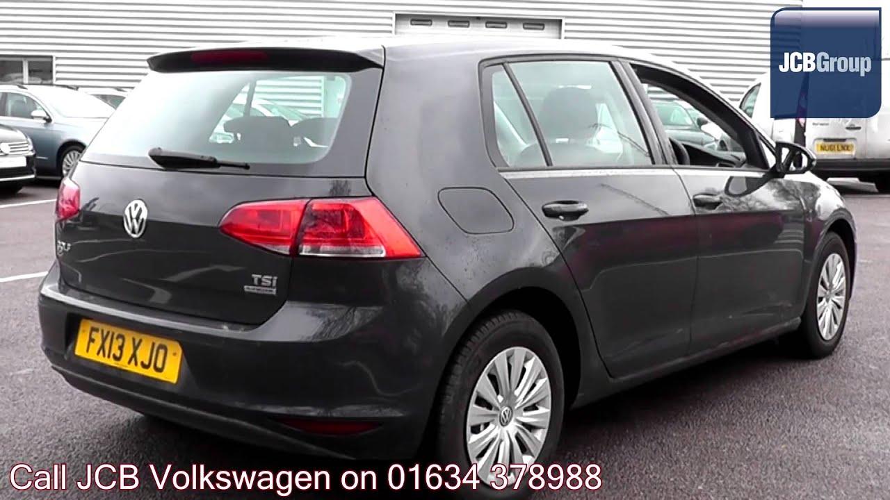 2013 Volkswagen Golf S 1.2l Urano Grey Metallic FX13XJO for sale at JCB VW Medway - YouTube