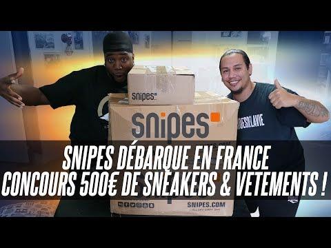 SNIPES DÉBARQUE EN FRANCE !!!
