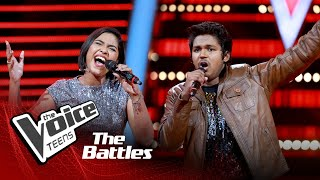 The Battles:Mevin Sankaranarayana V Thesara Thiyamini |River Deep Mountain |The Voice Teen Sri Lanka