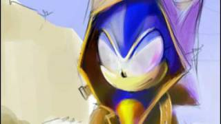 SonicSpeedDrawing by Lepricon