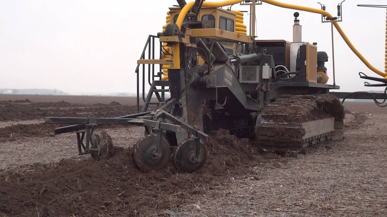 2012 Wolfe 540 Drainage Plow - YouTube