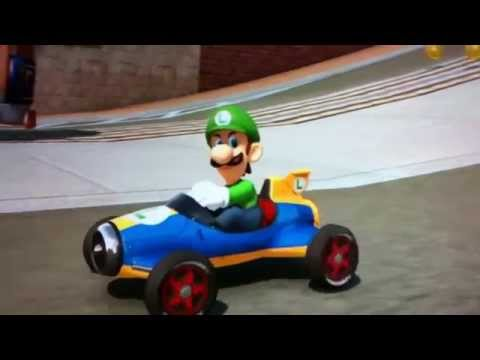 Luigi Ridin' Dirty - Death Stare in Mario Kart 8