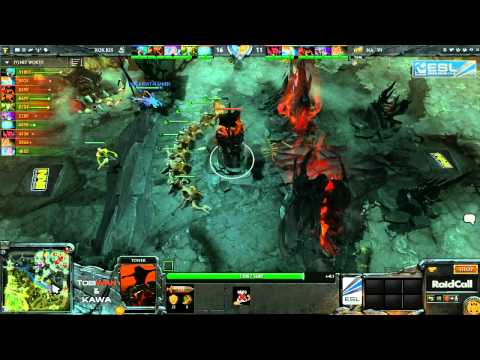 RaidCall EMS One - Na'Vi vs RoX KIS