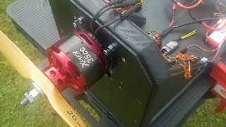 Power Testing: Xpwr 35cc Motor & Jeti Spin Pro 99 ESC with New Firmware (V1.03)