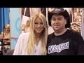 Youtube replay - Julianne Hough hangs with fans at t...