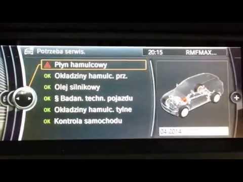 Nawigacja BMW CIC HDD Professional Polskie Menu Polski Lektor F01 F10 F25 F30 X1 X5 X6 E60 E90 E70