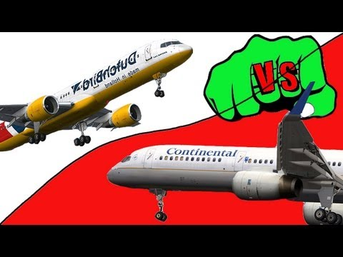 Captain Sim 757 vs Quality Wings 757 FSX HD