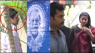 Vijay Wife Sangeetha Pays Last respect To Vikram