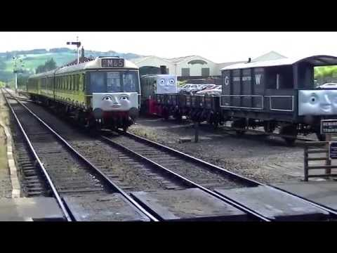 Gloucestershire Warwickshire Railway's Day Out With Thomas weekend 21/22 June 2014. Here my video of the day with my parent's and Niece's, Featuring Thomas T...