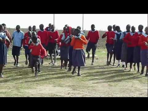 Student Dance at Oloonkerin Primary School